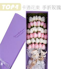 33枝玫瑰花盒