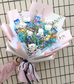 清纯佳人(图片)-爱慕鲜花速递