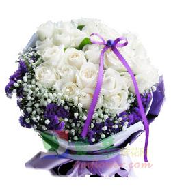 白色约定(图片)-爱慕鲜花速递