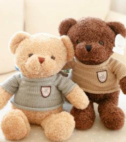 单只泰迪熊(40cm高)(节后邮寄)(图片)
