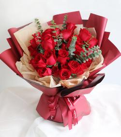 33朵红玫瑰(图片)